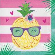 16 Tovaglioli Ananas Party