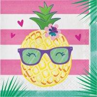 Contiene : 1 x 16 Tovaglioli Ananas Party