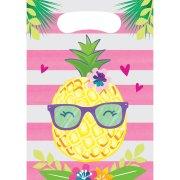 8 Tasche regalo per ananas party