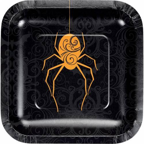 8 Piattini Wicked Spider