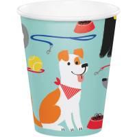 Contiene : 1 x 8 Bicchieri Dog Party