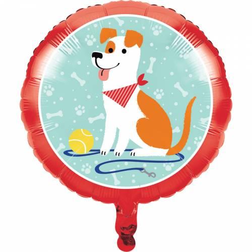 Palloncino piatto Dog Party