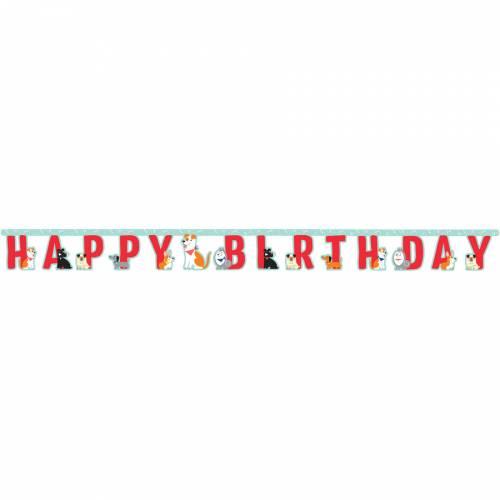 Ghirlanda Happy Birthday Dog Party