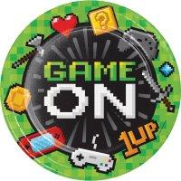 Contiene : 1 x 8 Piatti Game Party