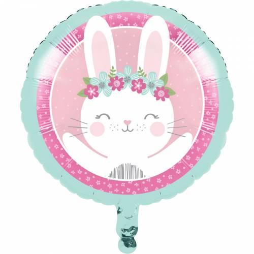 Palloncino piatto Coniglietto felice