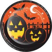 8 Piatti - Halloween Colors