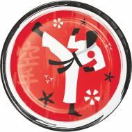 8 Piattini Karate Party