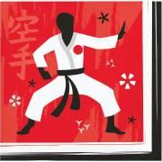 16 Tovagliolini Karate Party