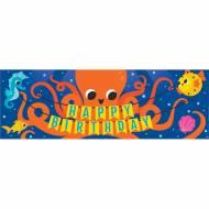 Banner Happy Birthday Oceano