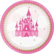 8 Piatti Castello Principessa