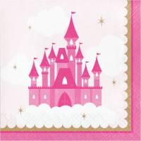 Contiene : 1 x 16 Tovaglioli Castello Principessa