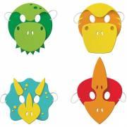 4 Maschere Dino