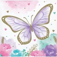 16 Tovagliolini Farfalla