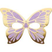 8 Maschere Farfalla - Cartone