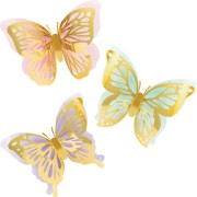 3 Decorazioni Farfalla