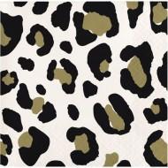 16 Tovagliolini Leopardato