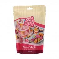 Funcakes dischetti decorativi da sciogliere rosa - 250g
