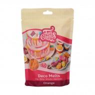 Funcakes dischetti decorativi da sciogliere arancioni - 250g
