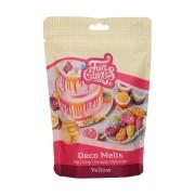 Funcakes dischetti decorativi da sciogliere gialli - 250g