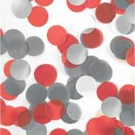 Coriandoli Mix 15 g - Rosso/Bianco/Argento