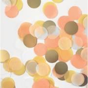 Coriandoli Mix 15 g - Giallo/Oro/Bianco/Arancione/Pesca