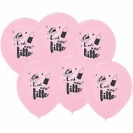6 Palloncini Rosa - È femmina 30 cm