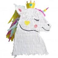 Pignatta Testa di Unicorno con Corona