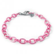Bracciale Charm it Charm it Charm Link - Metallo rosa