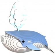 Set Balena Blu 3D da assemblare - Eugy