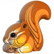 Set Scoiattolo 3D da assemblare - Eugy