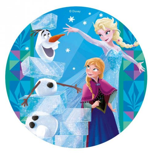 Disco Regina delle nevi blu (20 cm) – Ostia
