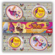 Kit 48  Pirottini + 24 decorazioni per cupcakes Troll