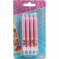 8 candele Principesse Disney