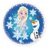 Disco Elsa e Olaf (16 cm) - Zucchero