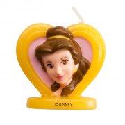 Candela Principessa Disney Bella 2D (5,5 cm)