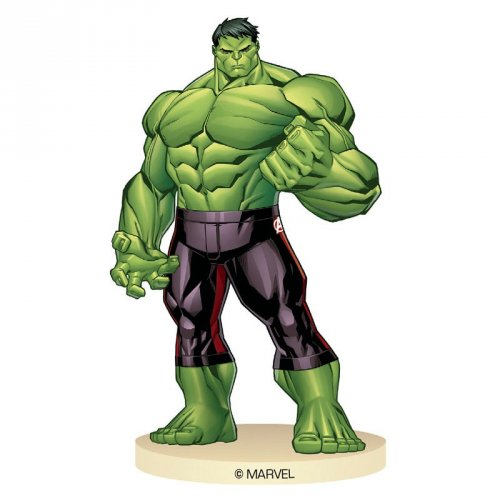 Figura di Hulk su base (9 cm)