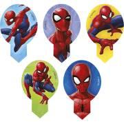 20 Decorazioni per Cupcake Spiderman - Azzimo - senza E171