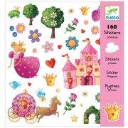 160 Adesivi Principessa Marguerite Principessa Marguerite