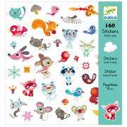 160 Adesivi per piccoli amici
