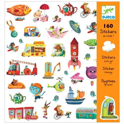 160 adesivi sulla strada