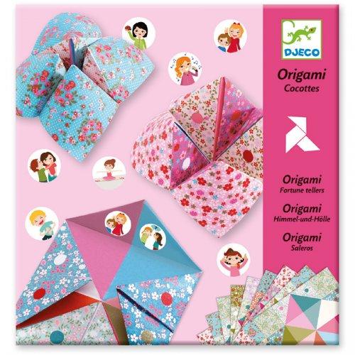 Kit Origami - Origami Indovino (per Ragazze)