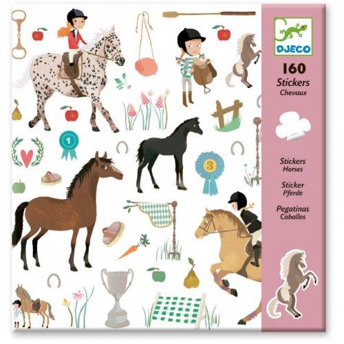 160 Adesivi - Cavalli