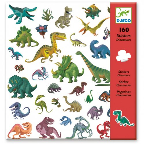 160 Adesivi Dinosauro