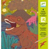 Carte da Grattare - Il regno dei Dinosauri