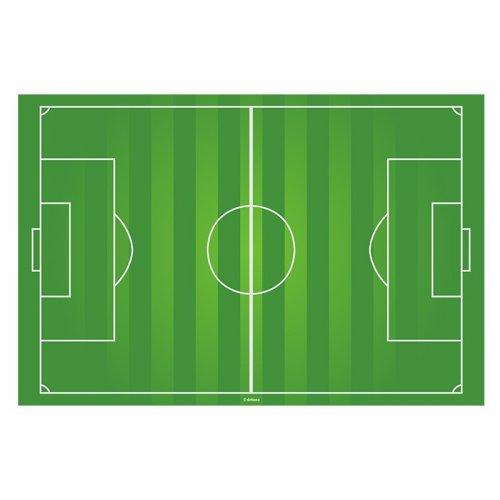 Targhetta campo da calcio ostia