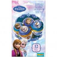 12 Mini dischi Regina delle nevi - Zucchero