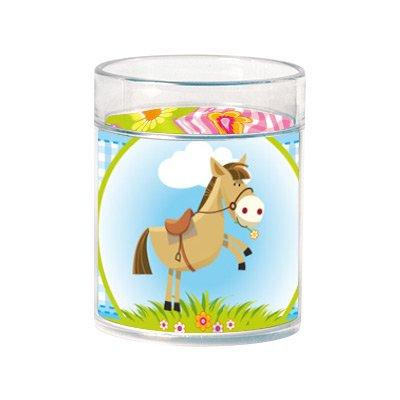 Vetro Decopop® da personalizzare (decorazione a pony)