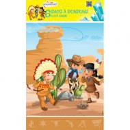 6 Sacchetti regalo Indiani e Cowboy