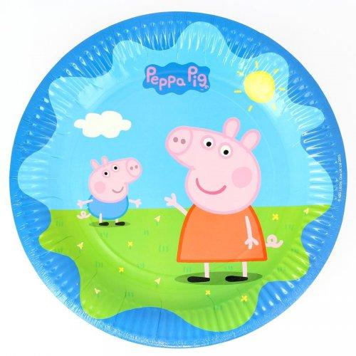 8 Piatti Peppa Pig