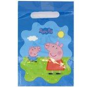 6 Sacchetti regalo Peppa Pig